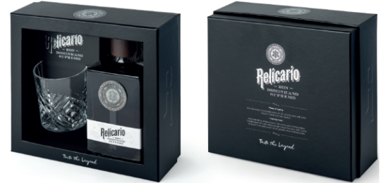 Rum Relicario Supremo 15 Anos 40° cl70 Gift Pack - foto 1