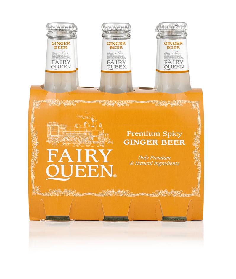 Fairy Queen Premium Spicy Ginger Beer cl20 conf. 24 pezzi - foto 1