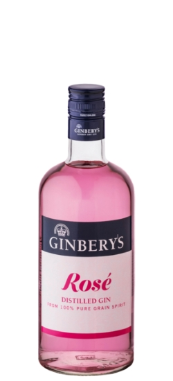 Gin Ginbery's Rosè 37.5° cl70