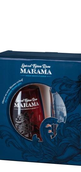Marama Spiced Fijian Rum 40° cl70 Gift Pack