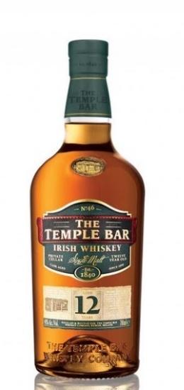 The Temple Bar Irish Whiskey 12 Years Single Malt 40° cl70 Gift Box