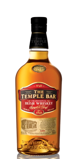 The Temple Bar Irish Whiskey Signature Blend 40° cl70 Gift Box