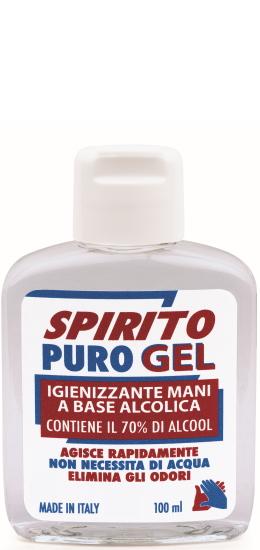 Spirito Puro Gel Igienizzante Mani ml100