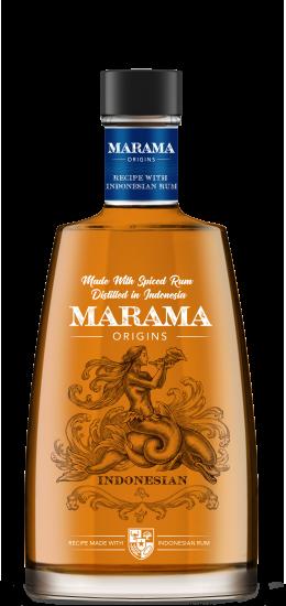 Marama Spiced Indonesian Rum 40° cl70 Gift Box